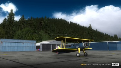 KBLU Blue Canyon-Nyack Airport screenshot