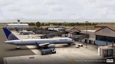 KBZN Bozeman Yellowstone International Airport screenshot
