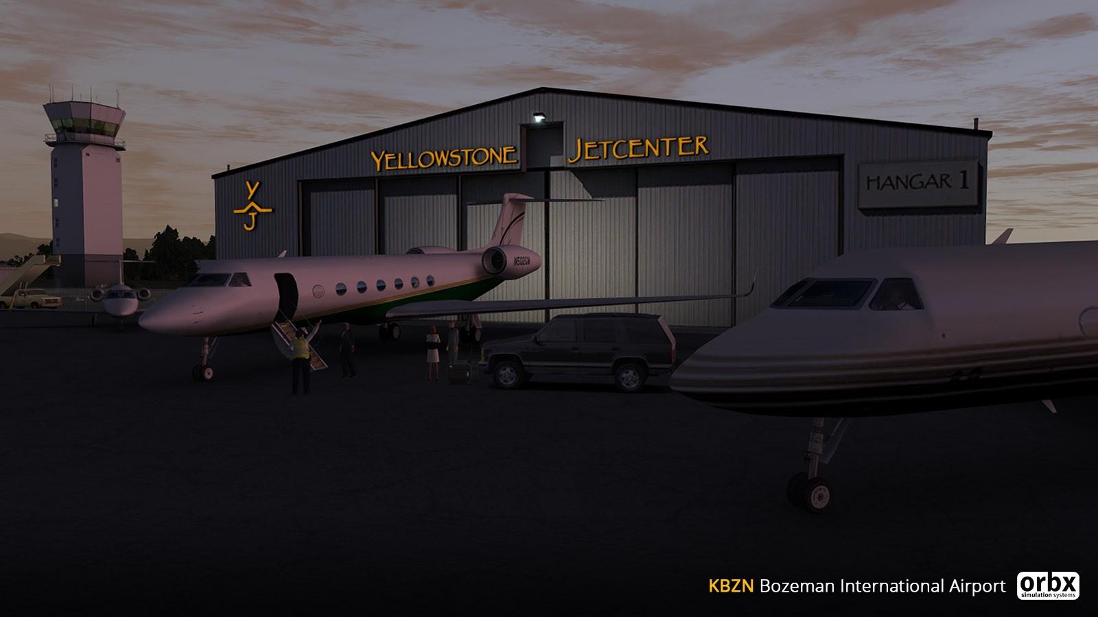 KBZN Bozeman Yellowstone International Airport