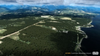 KCMW Cushman Meadows Airport screenshot