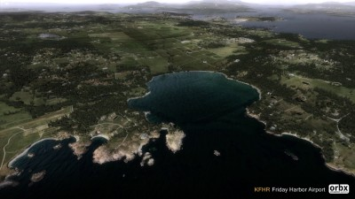 KFHR Friday Harbor Airport screenshot