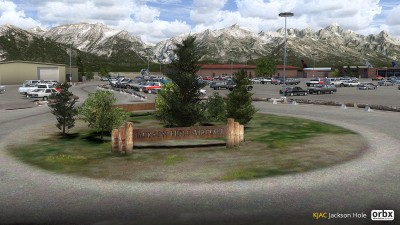 KJAC Jackson Hole Airport screenshot