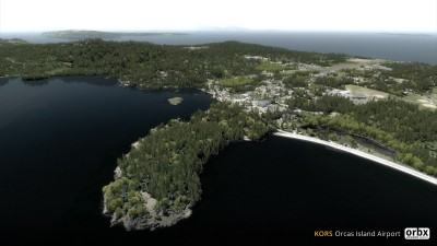 KORS Orcas Island Airport screenshot