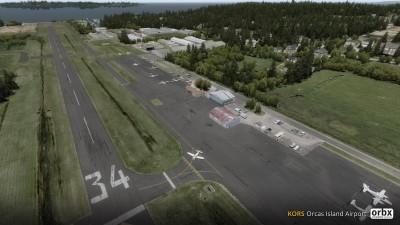 KORS Orcas Island Airport screenshot