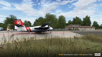 KRDD Redding Municipal Airport screenshot