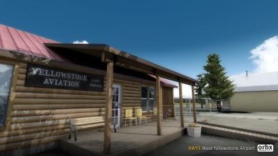 KWYS West Yellowstone Airport screenshot