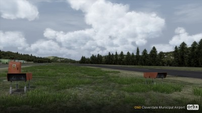 O60 Cloverdale Municipal Airport screenshot