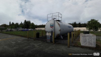 O60 Cloverdale Municipal Airport screenshot