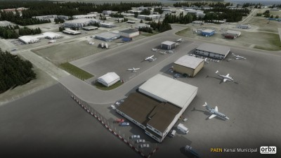 PAEN Kenai Municipal Airport screenshot