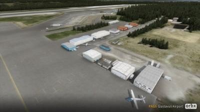 PAGS Gustavus Airport screenshot