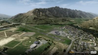 NZQN Queenstown Airport screenshot