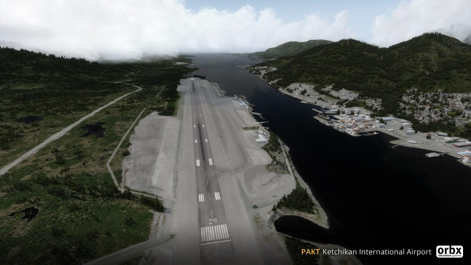 Pakt Ketchikan International Airport Orbx