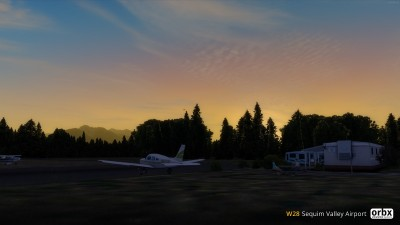 W28 Sequim Valley Airport screenshot