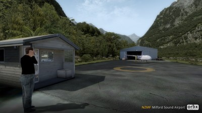 NZMF Milford Sound Airport screenshot