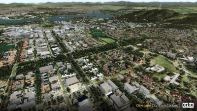 Cityscape Canberra screenshot