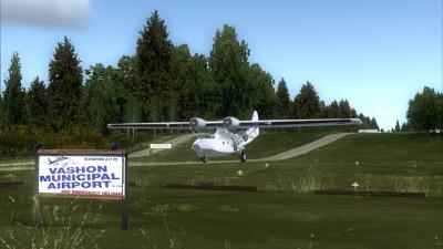 2S1 Vashon Island Airport screenshot