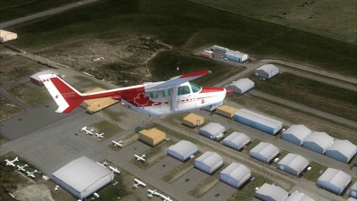 CEN4 High River Regional Airport screenshot
