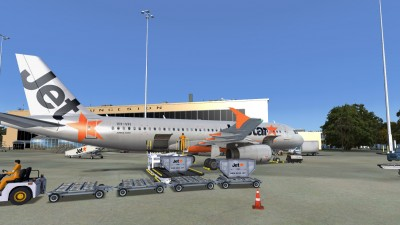YMLT Launceston Airport screenshot