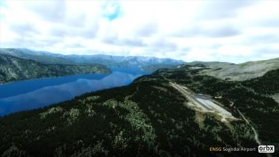 ENSG Sogndal Haukåsen Airport screenshot