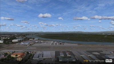 KSQL San Carlos Airport screenshot
