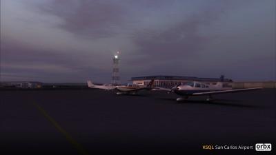 KSQL San Carlos Airport screenshot