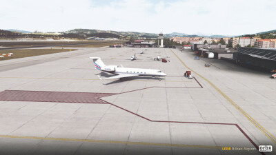 LEBB Bilbao Airport screenshot