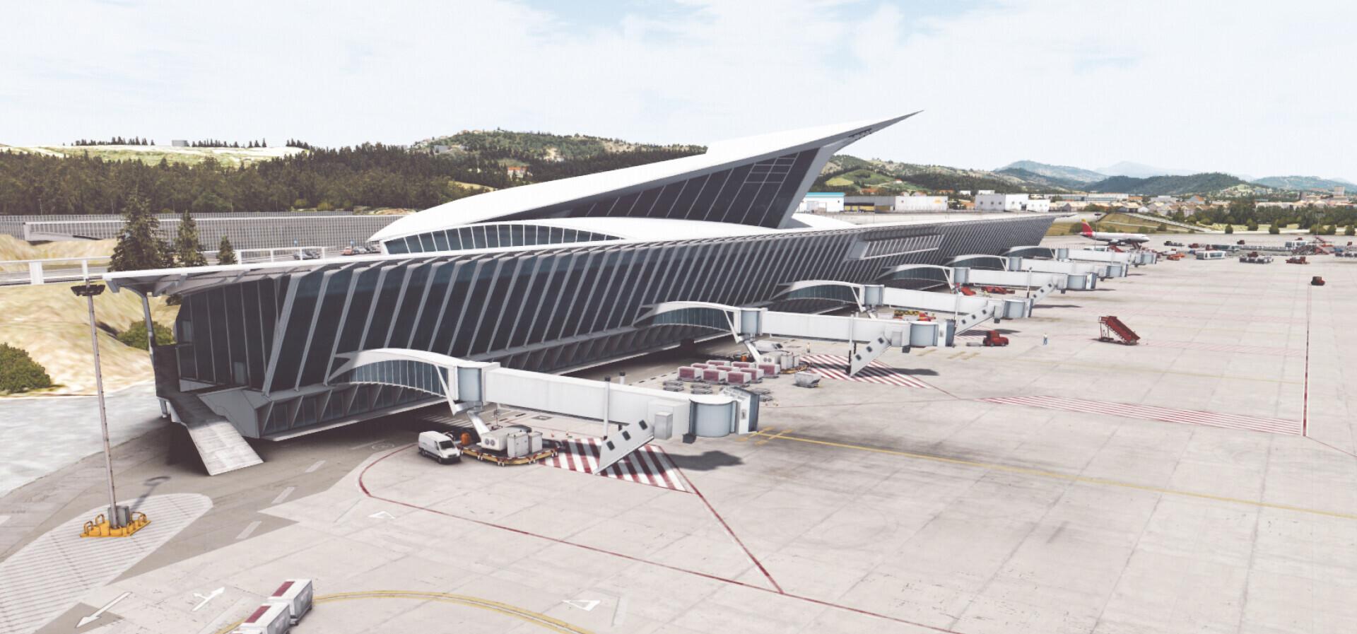 LEBB Bilbao Airport