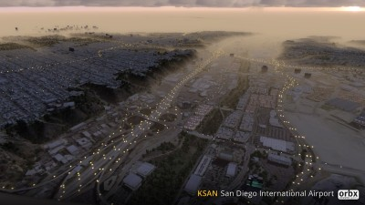 KSAN San Diego International Airport screenshot