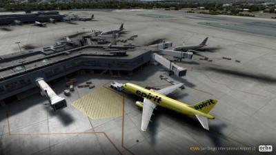 KSAN San Diego International Airport screenshot