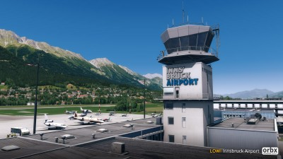 LOWI Innsbruck Airport screenshot