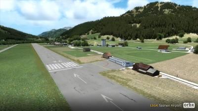 LSGK Saanen Airport screenshot
