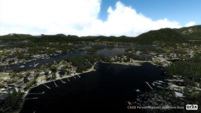 CAG8 Pender Harbour Seaplane Base screenshot