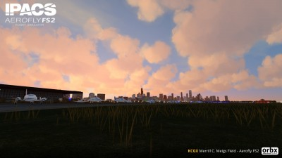 KCGX Merrill C. Meigs Field - Aerofly FS 2 screenshot