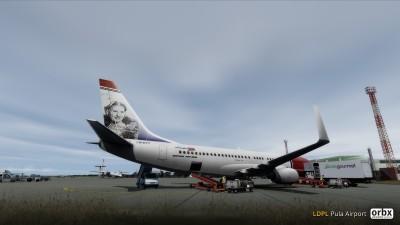 LDPL Pula Airport screenshot