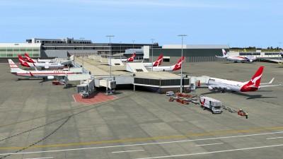 AI Traffic Australia and New Zealand P3Dv4 screenshot