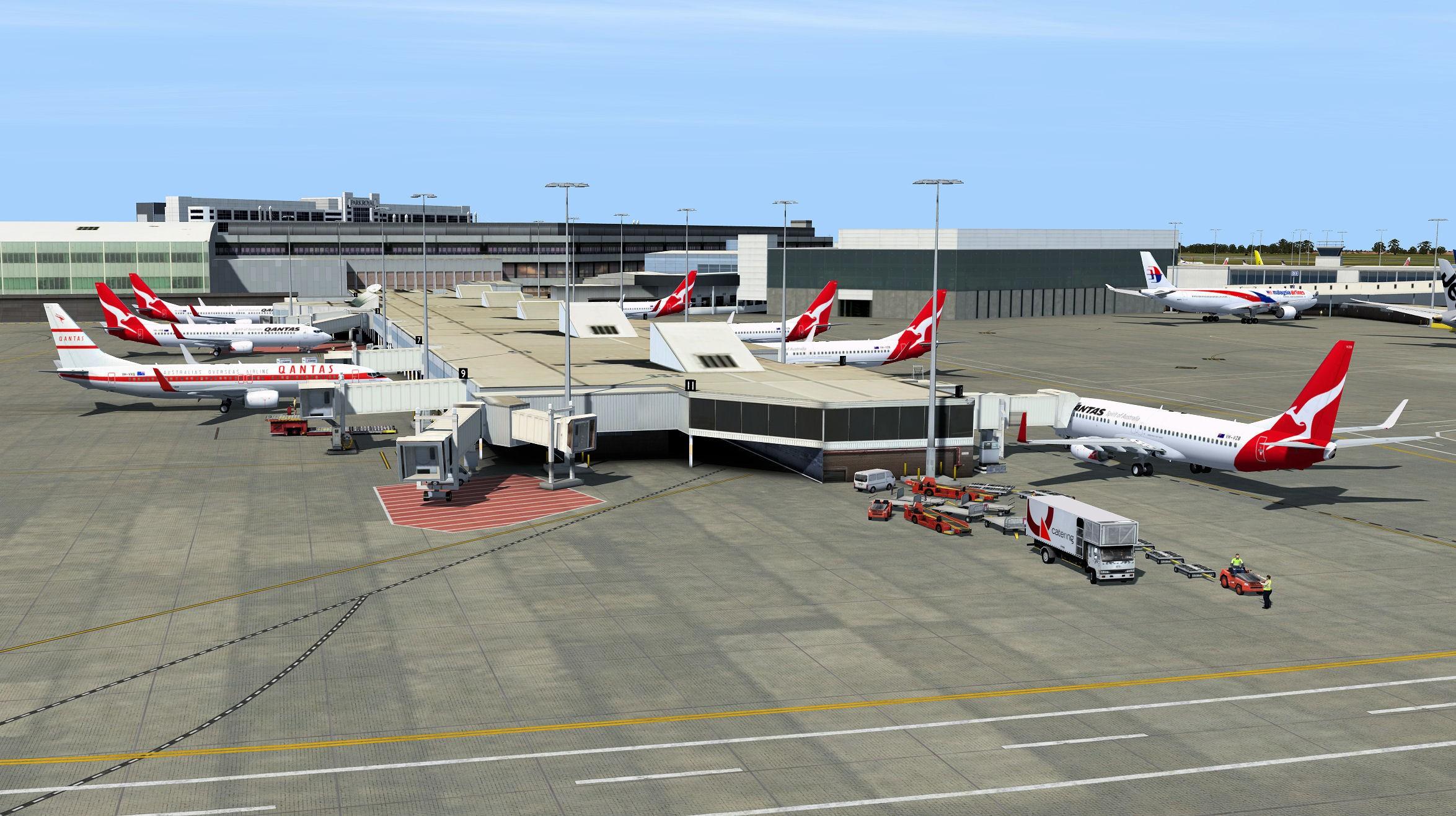 AI Traffic Australia and New Zealand P3Dv4 - Orbx