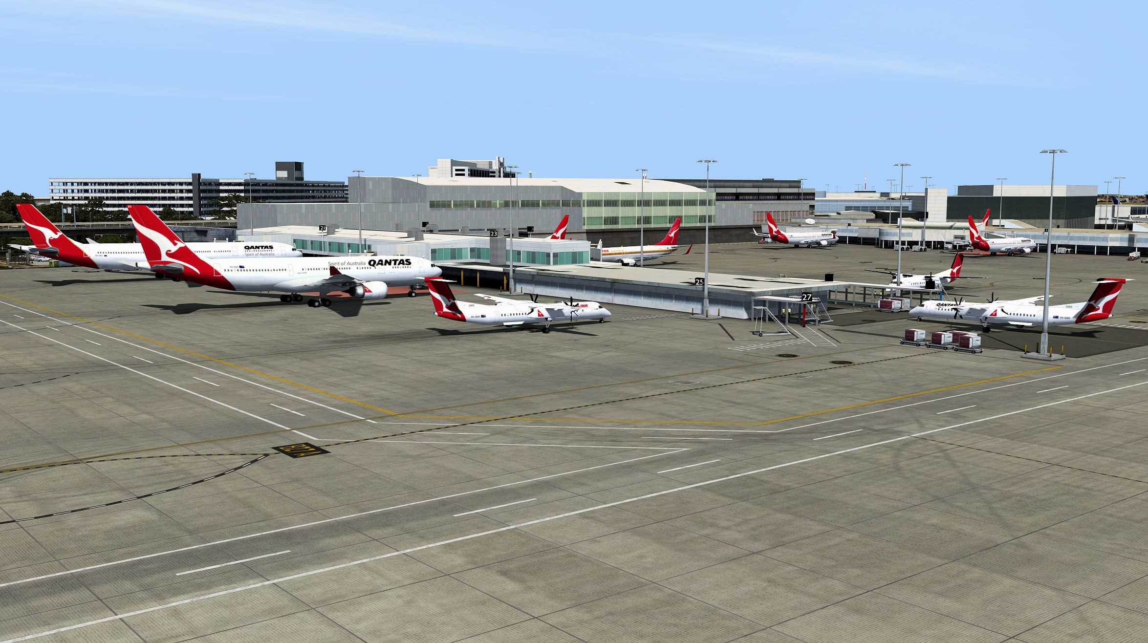 AI Traffic Australia and New Zealand P3Dv4 - Orbx