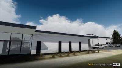 YWOL Wollongong Airport screenshot