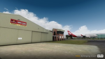 YWOL Wollongong Airport screenshot