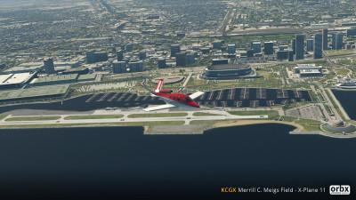 KCGX Merrill C. Meigs Field - X-Plane 11 screenshot