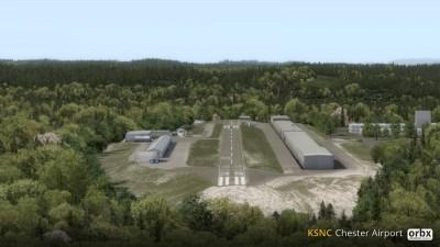 KSNC Chester Airport screenshot