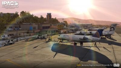 KMRY Monterey Regional Airport - Aerofly FS 2 screenshot