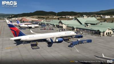 KEGE Eagle County Regional Airport - Aerofly FS 2 screenshot