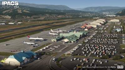 KEGE Eagle County Regional Airport - Aerofly FS 2 screenshot
