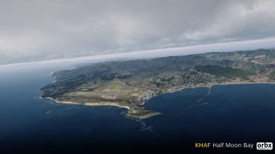 KHAF Half Moon Bay Airport screenshot