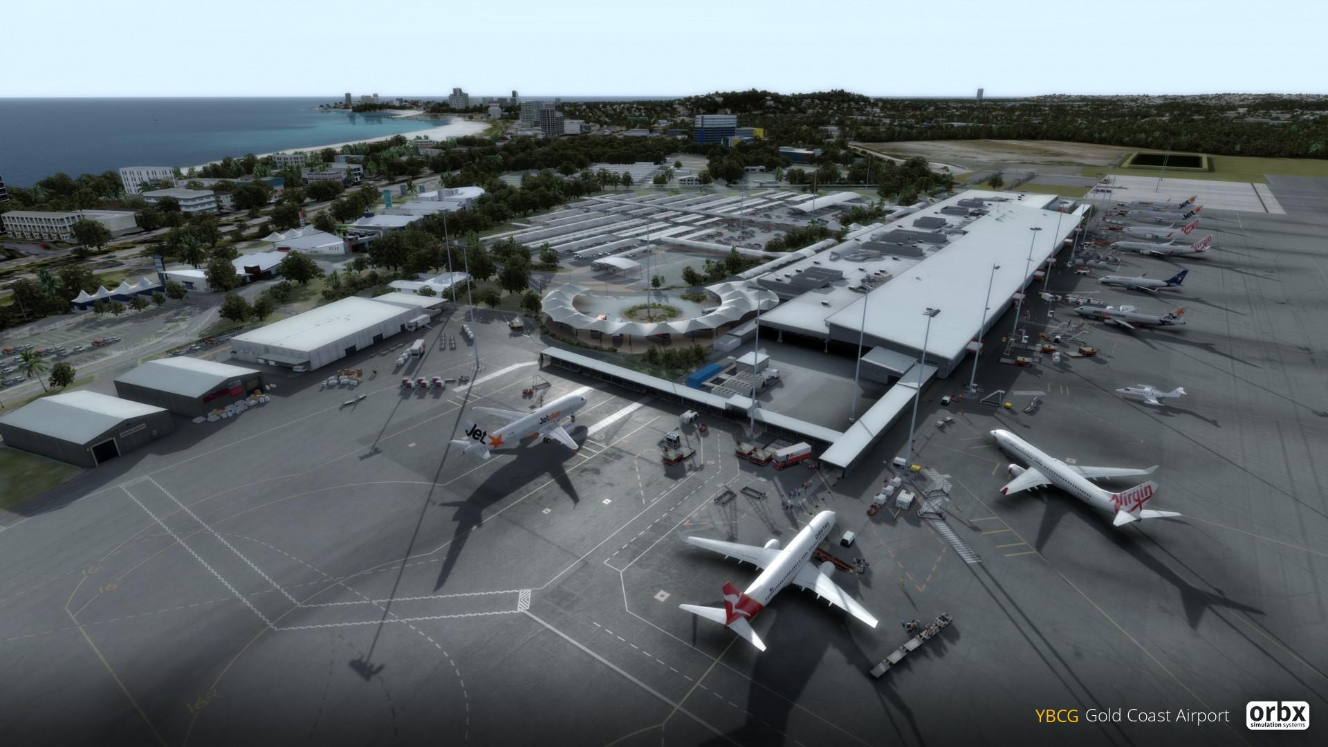 YBCG Gold Coast Airport