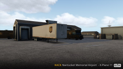 KACK Nantucket Memorial Airport - X-Plane 11 screenshot