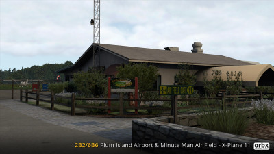 2B2/6B6 Plum Island Airport & Minute Man Air Field - X-Plane 11 screenshot