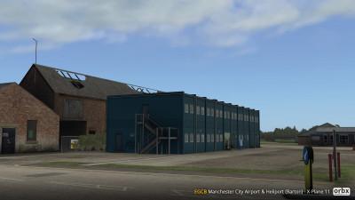 EGCB Manchester City Airport and Heliport (Barton) - X-Plane 11 screenshot