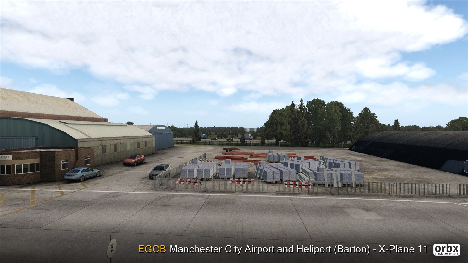 EGCB Manchester City Airport and Heliport (Barton) - X-Plane 11